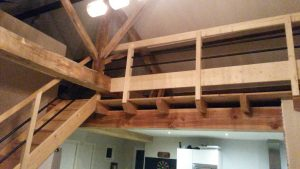 Escalier bois pour combles