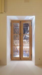 Fenêtre bois petit carreaux